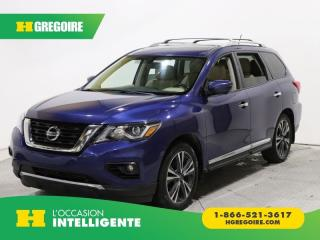 Used 2017 Nissan Pathfinder Platinum Awd Cuir for sale in St-Léonard, QC