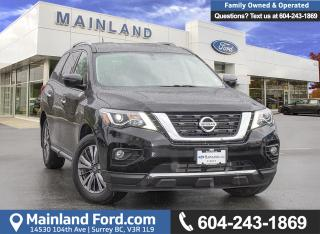 Used 2018 Nissan Pathfinder S LOCALLY DRIVEN, EX-RENTAL for sale in Surrey, BC