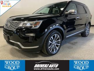 Used 2018 Ford Explorer Platinum CLEAN CARFAX, 3.5L ECOBOOST,TOP OF THE LINE EXPLORER.. for sale in Calgary, AB