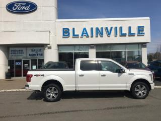 Used 2016 Ford F-150 PLATINUM for sale in Blainville, QC