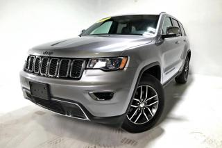 Used 2017 Jeep Grand Cherokee LIMITED *CUIR*TOIT*CAMÉRA* for sale in Brossard, QC