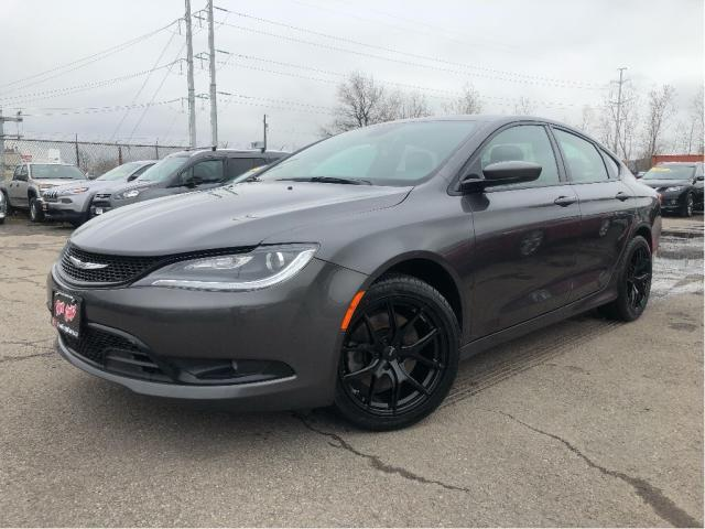 2015 Chrysler 200 S | Navigation| PanoRoof| New Tires | Htd Seat/Whe