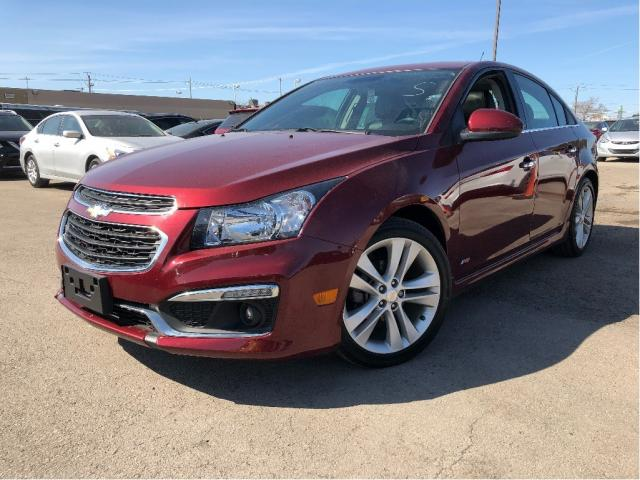2015 Chevrolet Cruze 2LT | RS | Leather |Sunroof | Auto | Michelin Tire