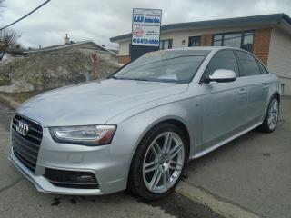 Used 2013 Audi A4 2013 Audi - S Line for sale in Ancienne Lorette, QC