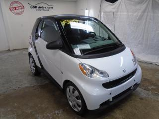 Used 2009 Smart fortwo Pure for sale in Ancienne Lorette, QC