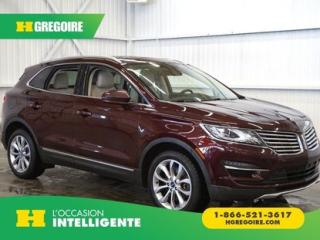 Used 2017 Lincoln MKC AWD CAMÉRA-CUIR for sale in St-Léonard, QC