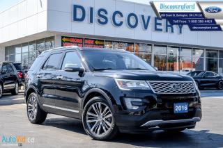 Used 2016 Ford Explorer Platinum for sale in Burlington, ON