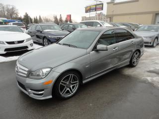 Used 2012 Mercedes-Benz C350 4matic 4MATIC Cuir ToitPano GPS Cam a vendre for sale in Laval, QC