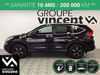 Used 2016 Honda CR-V LX AWD ** GARANTIE 10 ANS ** Parfait pour l'hiver québécois! for sale in Shawinigan, QC