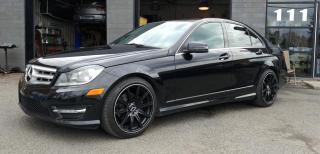 Used 2012 Mercedes-Benz C-Class 4MATIC - PREMIUM PACKAGE for sale in Beloeil, QC
