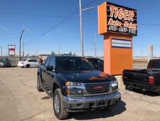 Used 2011 GMC Canyon SLT**LEATHER**ONLY 59,000KMS**4X4**CREW CAB for sale in London, ON