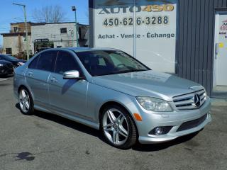 Used 2010 Mercedes-Benz C350 ***4X4,CUIR,TOIT,MAGS AMG*** for sale in Longueuil, QC