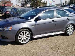 Used 2011 Mitsubishi Lancer RALLIART, BEAUTIFUL CAR, BLUETOOTH, CRUISE CONTROL, SUNROOF AND MORE for sale in Edmonton, AB
