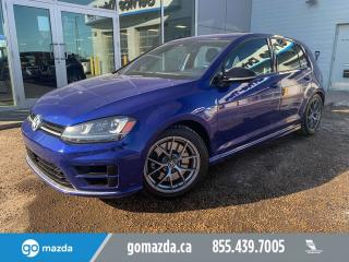 Used 2016 Volkswagen Golf R R AWD LEATHER SUNROOF NAV 2 SETS OF TIRES for sale in Edmonton, AB