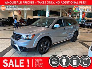 Used 2019 Dodge Journey Crossroad AWD for sale in Richmond, BC