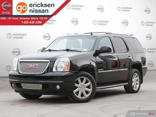 Used 2014 GMC Yukon Denali 4dr AWD : LOW KMS, 1 OWNER, VERY CLEAN! DVD, LEATHER, NAVIGATION for sale in Edmonton, AB