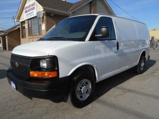 Used 2014 Chevrolet Express 2500 2500HD Cargo 4.8L Divider Shelving Certified 177Km for sale in Etobicoke, ON