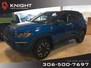 Used 2019 Jeep Compass Trailhawk 4x4 | Sunroof | Navigation for sale in Regina, SK