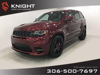 New 2019 Jeep Grand Cherokee SRT 6.4L Hemi | Sunroof | Navigation for sale in Regina, SK