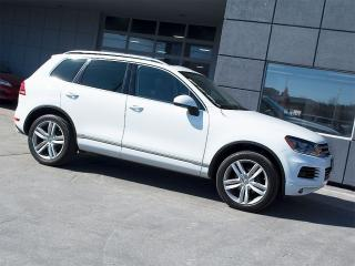 Used 2013 Volkswagen Touareg EXECLINE|NAVI|REARCAM|PANOROOF|DYNAUDIO for sale in Toronto, ON