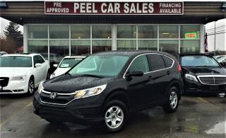 Used 2015 Honda CR-V LX|REAR VIEW|HEATED SEATS|ACCIDENT FREE| for sale in Mississauga, ON