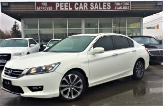 Used 2015 Honda Accord SPORT|SUNROOF|REARVIEW|ALLOYS|CERTIFIED AND MORE! for sale in Mississauga, ON