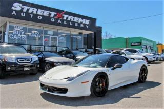 Used 2012 Ferrari 458 ITALIA BackUp Camera | Accident Free | JBL Sound System for sale in Markham, ON