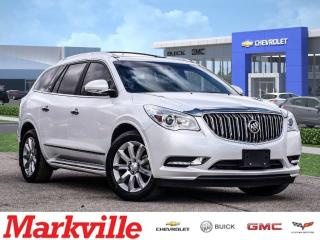 Used 2016 Buick Enclave PREMIUM-AWD-LEATHER-ROOF-GM CERTIFIED P-O-1 OWNER for sale in Markham, ON