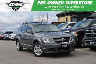 Used 2012 Dodge Journey CVP - FWD, Keyless, Cruise, Touch Screen for sale in London, ON