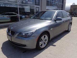Used 2010 BMW 528 i XDRIVE NAVIGATION LEATHER SUNROOF for sale in Etobicoke, ON