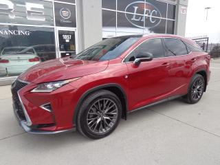 Used 2017 Lexus RX 350 F-SPORT PKG LEVEL3.HUD.NAVI.PANO ROOF for sale in Etobicoke, ON