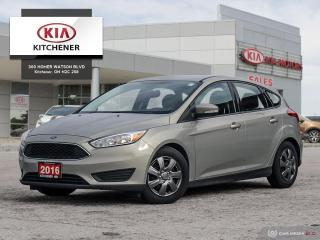 Used 2016 Ford Focus Hatchback SE, CARFAX CLEAN! for sale in Kitchener, ON