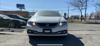 Used 2014 Honda Civic Sedan ONE OWNER,TOURING, NAVIGATION, BACK UP CAM, LEATHER, SUNROOF for sale in North York, ON
