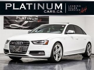 Used 2013 Audi S4 3.0T Quattro TECHNIK, NAV, BANG&OLUFSEN, Blindspot for sale in Toronto, ON