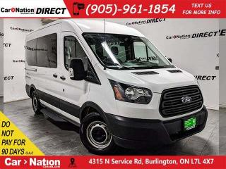 Used 2018 Ford Transit   10-PASSENGER  BACK UP CAMERA  for sale in Burlington, ON