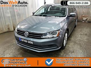 Used 2017 Volkswagen Jetta Edition Wolfsburg - Toit ouvrant - Mags for sale in Rivière-Du-Loup, QC