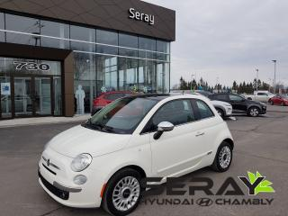 Used 2013 Fiat 500 Lounge, A/c, Toit for sale in Chambly, QC