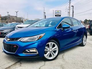 Used 2018 Chevrolet Cruze Premier RS PKG|Rear CAM|Heated STR Wheel|Bluetooth for sale in Mississauga, ON