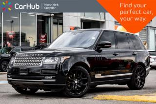 New 2016 Land Rover Range Rover SC|MeridianSound|PanoSunroof|AmbientLight|HUD|Nav for sale in Thornhill, ON