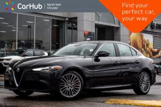 Used 2017 Alfa Romeo Giulia Ti|Lusso,Ambient.Light.Pkgs|Panosunroof|H/KSound for sale in Thornhill, ON