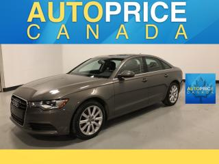 Used 2015 Audi A6 2.0T Progressiv NAVIGATION|REAR CAM|LEATHER for sale in Mississauga, ON