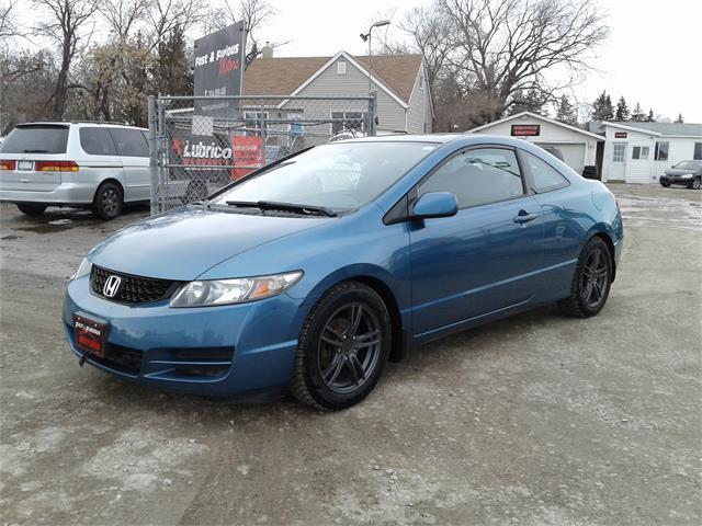 Used 2009 Honda Civic Cpe Lx For Sale In Oak Bluff Manitoba