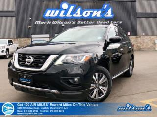 Used 2018 Nissan Pathfinder SV Tech AWD - Navigation, Heated Steering + Seats, Blind Spot Alert, Rear Camera, Bluetooth & More! for sale in Guelph, ON
