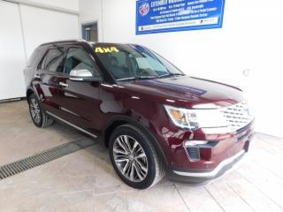 Used 2018 Ford Explorer PlatinumSUNROOF NAVI for sale in Listowel, ON