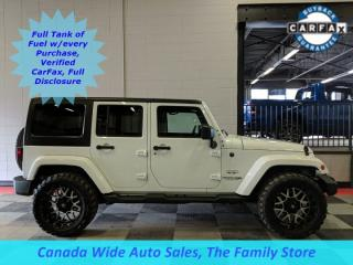 Used 2018 Jeep Wrangler JK Unlimited Sahara, Navigation for sale in Edmonton, AB