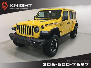 New 2019 Jeep Wrangler Unlimited Rubicon | Navigation for sale in Regina, SK
