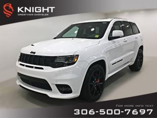 New 2019 Jeep Grand Cherokee SRT 6.4L Hemi | Sunroof | Navigation for sale in Regina, SK