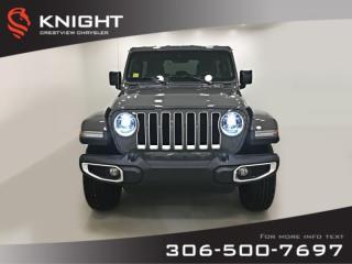New 2019 Jeep Wrangler Unlimited Sahara | Navigation for sale in Regina, SK