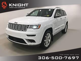 New 2019 Jeep Grand Cherokee Summit | Sunroof | Navigation for sale in Regina, SK