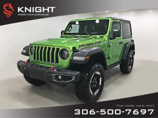 New 2019 Jeep Wrangler Rubicon Turbo | Navigation | Remote Start for sale in Regina, SK